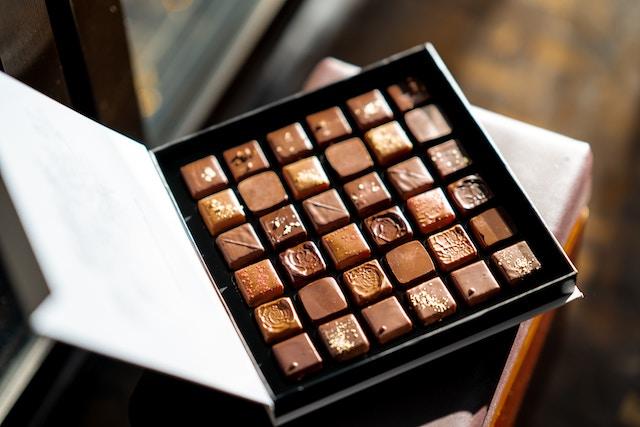 箱入りチョコレート