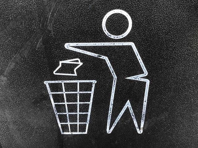 ゴミ捨てマーク
