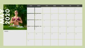 習慣化カレンダー5月
