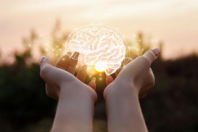 脳が覚醒するイメージ