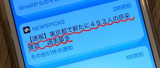 東京都感染者過去最高